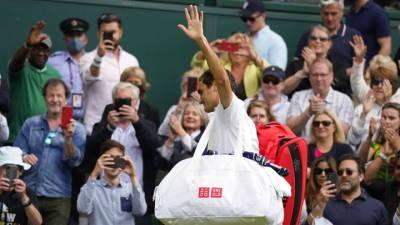 Федерер не смог пробиться в полуфинал Уимблдона
