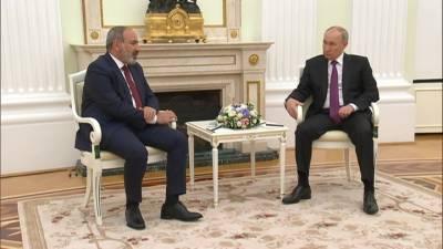 Факты. Путин рассказал Пашиняну, что показали выборы в Армении