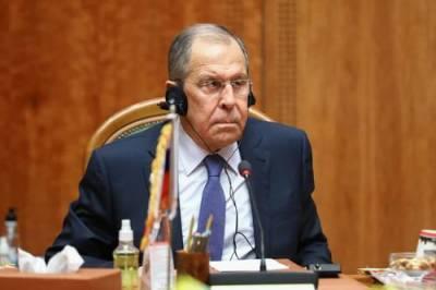 Лавров заявил, что Москва надеется получить от Токио разъяснения по военному союзу с США