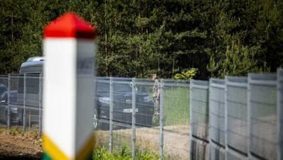 За сутки на границе Литвы с Беларусью задержаны 72 нелегальных мигранта