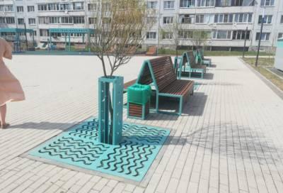 Александр Дрозденко посетил благоустроенную Северопарковую общественную территорию в Приозерске