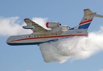 Минобороны РФ направило в Турцию самолет-амфибию Бе-200 для помощи в тушении пожаров