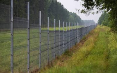 В Литве начали строить забор на границе с Беларусью