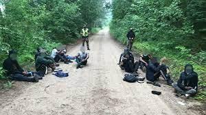 За сутки на границе Литвы с Беларусью задержаны 37 нелегальных мигрантов