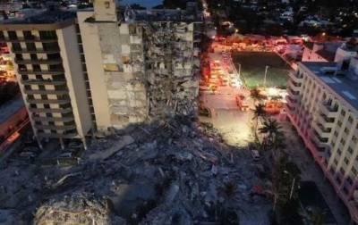 Обрушение жилого дома в Майами: число жертв снова возросло