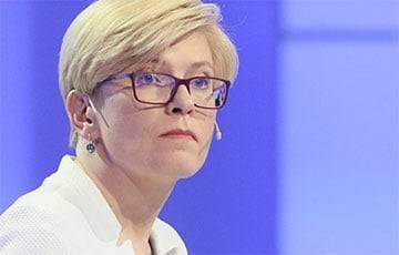 Премьер-министр Литвы о высылке белорусских дипломатов: Среди них были сотрудники спецслужб