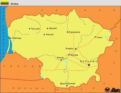 Литва начала возводить ограждение из колючей проволоки на границе с Белоруссией