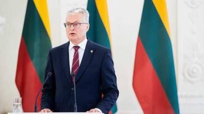 Президент Литвы Науседа созывает Совет нацбезопасности из-за беспрецедентного количества нелегальных мигрантов из Беларуси