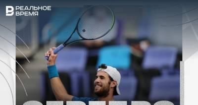 Российский теннисист Хачанов завоевал серебро на Олимпиаде