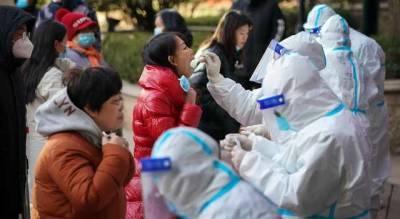 Из-за новой вспышки коронавируса в Китае проверяют миллионы людей