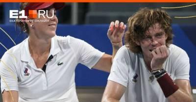 Российские теннисисты Анастасия Павлюченкова и Андрей Рублёв стали олимпийскими чемпионами