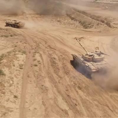 Совместные военные учения проводят Россия, Таджикистан и Узбекистан