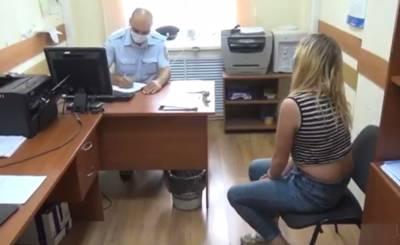 Полицейские задержали девушку, сломавшую знак «Я люблю Сокол»