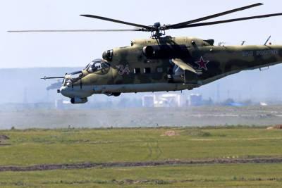 На учениях на границе с Афганистаном применили «вертолетную карусель»