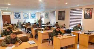 Азербайджанские военнослужащие участвуют в учениях в Турции (ФОТО)