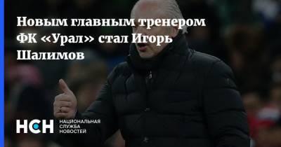 Новым главным тренером ФК «Урал» стал Игорь Шалимов