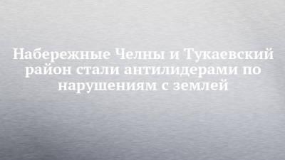 Набережные Челны и Тукаевский район стали антилидерами по нарушениям с землей