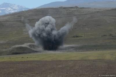 Названо число погибших и получивших увечья в Азербайджане в результате взрывов мин