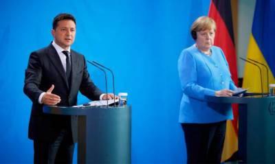 Зеленский обсудит с Меркель гарантии для Украины по «Северному потоку-2»