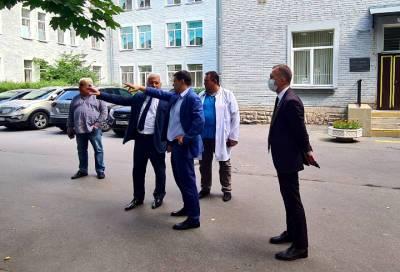 В Петербургской больнице появится новый корпус на 500 коек