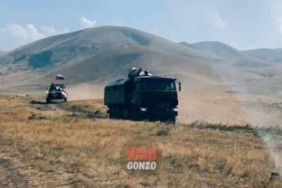 Российские пограничники начали патрулировать границу Армении и Азербайджана