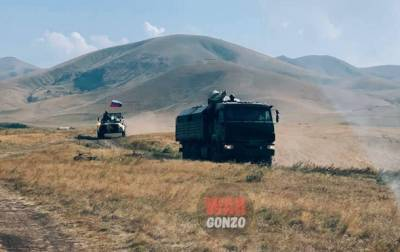 Границу Армении и Азербайджана начали патрулировать пограничники РФ