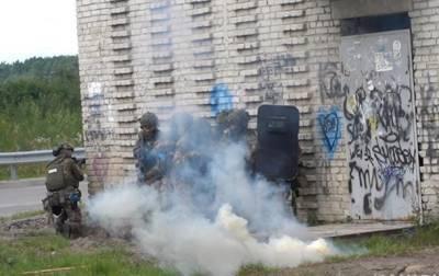 Во Львовской области прошли полицейские спецучения