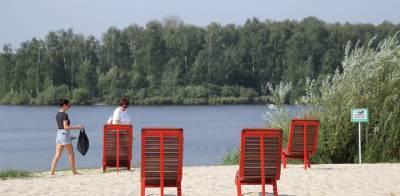 Территория вдоль озера Сортировочное в Нижнем Новгороде открылась после благоустройства