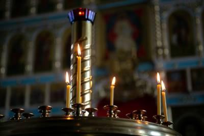 Мужчина поджег себя в Петербургском храме