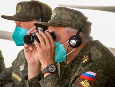 Главы военных ведомств РФ и КНР наблюдали за активной фазой совместных учений