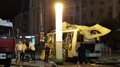 Врач рассказал о состоянии пострадавших после взрыва автобуса в Воронеже