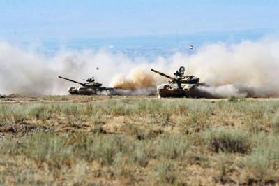 Трехсторонние военные учения в Таджикистане успешно завершились