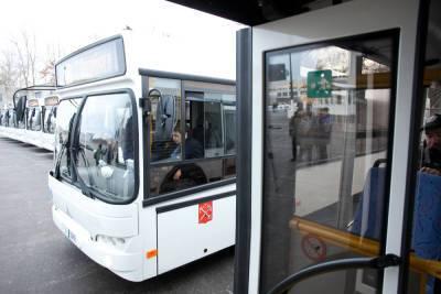 Новые автобусы с кондиционерами появятся в Петербурге уже весной 2022 года