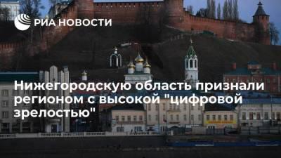 Глава Нижегородской области Никитин: Минцифры отметило высокий уровень цифровизации в регионе