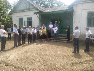 Депутат Севиль Микаилова провела очередную встречу с избирателями в Хачмазе (ФОТО)