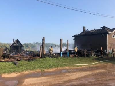 В Удмуртии 54-летняя женщина погибла на пожаре