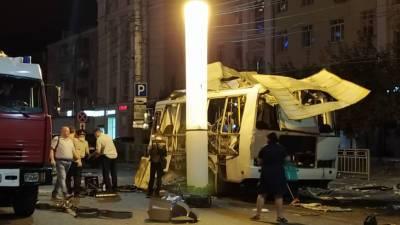 Семьи погибших при взрыве автобуса в Воронеже получат по 1 млн рублей