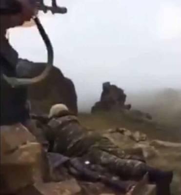 Стрелковый бой на границе Армении и Азербайджана