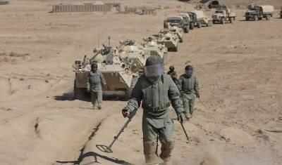 Российские военные возвратились на базы с учений на афганской границе