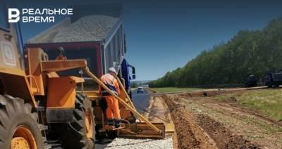 В Тукаевском районе Татарстана обновили три километра изношенных участков дороги