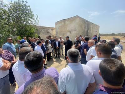 Главы НПО Азербайджана находятся в Агдаме (ФОТО)