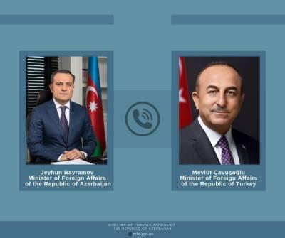 Главы МИД Азербайджана и Турции обсудили миротворческую миссию своих стран в Афганистане