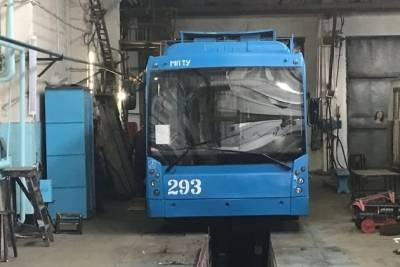 Власти Читы купят на сэкономленные деньги ещё три троллейбуса к запланированным 15