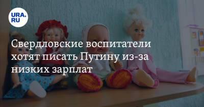 Свердловские воспитатели хотят писать Путину из-за низких зарплат