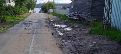 Власти поселка в Карелии обещали засыпать яму, в которую провалился ребенок