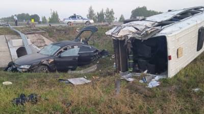 Тамбовская прокуратура контролирует проверку смертельного ДТП с микроавтобусом