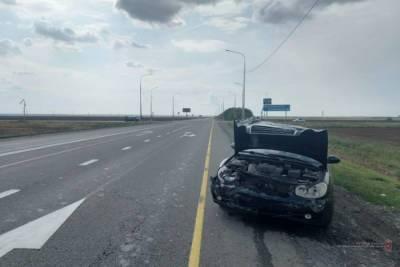 В Волгоградской области в ДТП на трассе пострадала 69-летняя женщина
