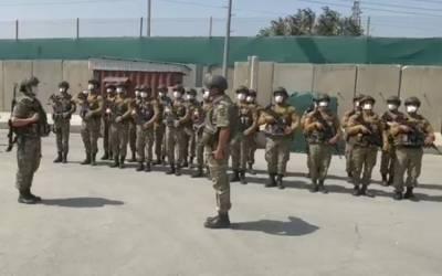 Миротворческий контингент Азербайджана выполняет задачи по охране одного из секторов аэропорта Кабула - минобороны (ВИДЕО)
