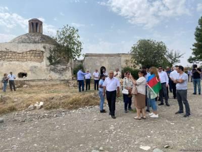 Главы функционирующих в Азербайджане НПО находятся в освобожденном Агдаме (ФОТО)