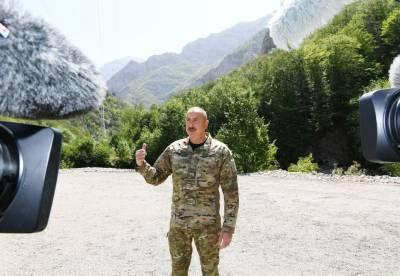 Президент Ильхам Алиев: После оккупации Кяльбаджара оккупация других земель стала уже неизбежной